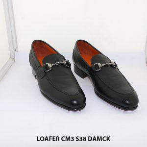 Giày lười nam đế da êm chân Loafer CM3 size 38 001