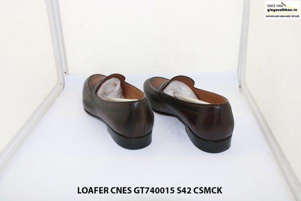 Giày lười nam đế cao su Loafer CNES GT740015 size 42 004
