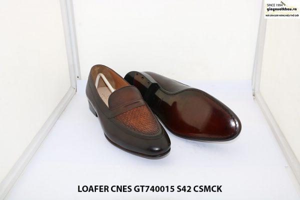 Giày lười nam đế cao su Loafer CNES GT740015 size 42 003