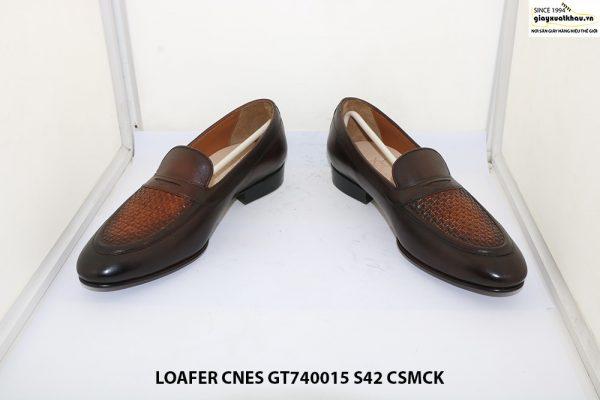 Giày lười nam đế cao su Loafer CNES GT740015 size 42 002