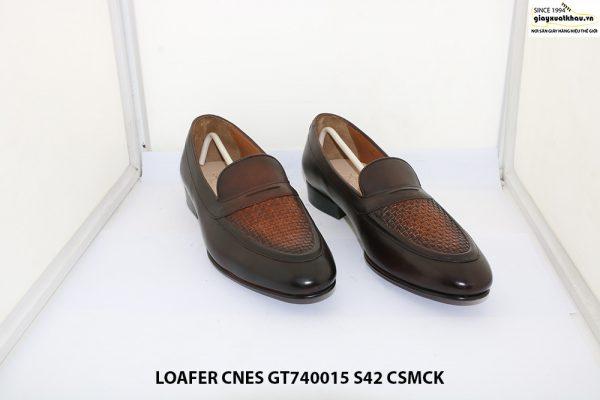Giày lười nam đế cao su Loafer CNES GT740015 size 42 001