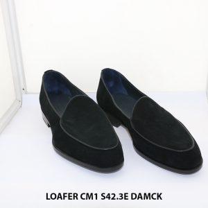 Giày lười nam da lộn Loafer CM1 size 42 rộng 3E 001