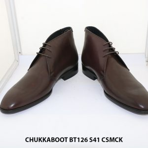 Giày da nam cổ lửng CHukka Boot BT126 size 38+43+41 0096