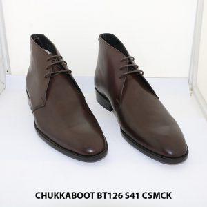 Giày da nam cổ lửng CHukka Boot BT126 size 38+43+41 005