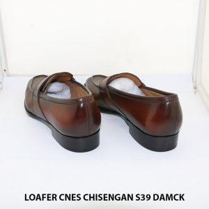 Giày lười nam đánh Patina Penny Loafer CNES Chisengan size 39 005