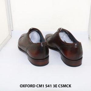Giày tây nam hàng hiệu Oxford CM1 3E Size 41 004