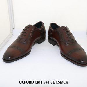 Giày tây nam hàng hiệu Oxford CM1 3E Size 41 002