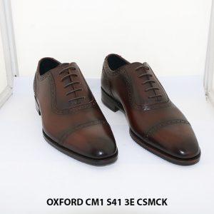 Giày tây nam hàng hiệu Oxford CM1 3E Size 41 001